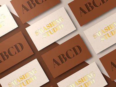 Free – Choco Business Card Mockup modern minimal elegant card businesscard template freebie mockup free