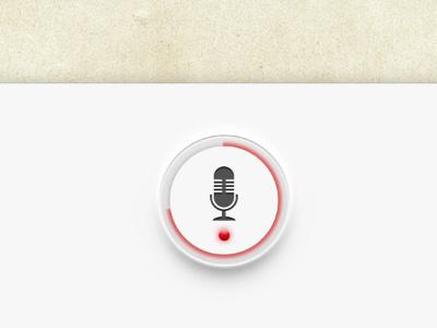 Yohondo Record Button ipad ui button record