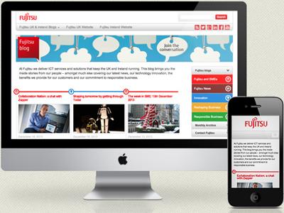 Fujitsu Responsive Blog Design rwd blog wordpress