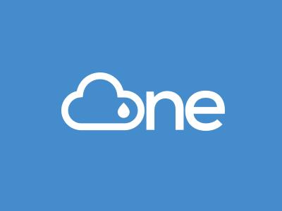 Cirrus one weather app logo logo brand cloud weather blue