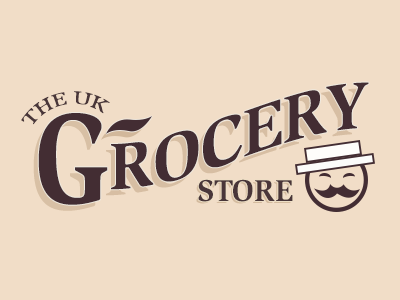 Uk Grocery Store Logo design brand design logo design