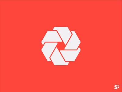 Logo-a-day // 12 abstract logo logo designer graphic design visual design logomark logo concept logo design minimal logo shutter geometric logo branding symbol logo