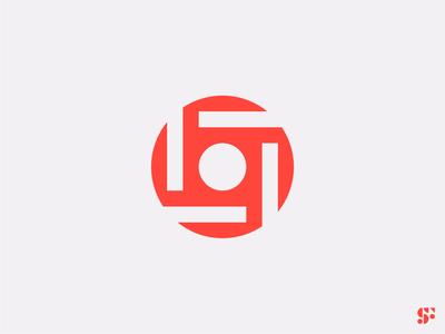 Logo-a-day // 17 modular design abstract logo modern logo logo design circular logo minimalist logo minimalism startup logo icon geometric logo branding symbol logo