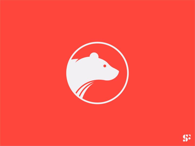 Logo-a-day // 20 circular logo modern logo logos logo design minimalist logo minimal startup logo geometric logo animal logo bear icon graphic design branding symbol logo