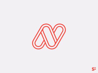 Logo-a-day // 21 logomark logo for sale startup logo icon modern logo minimalist logo minimalism typographic logo letter n letter logos lettering logo n logo lettermark logo design graphic design branding symbol logo
