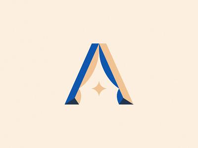 A ✦ custom lettering brand identity letter logo typographic logo letter a a lettering logo designer logo design logomark logotype lettermark typography branding symbol logo