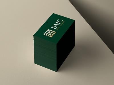 BMC Wealth // Brand Identity wealth management finance corporate brand logo designer brand designer graphic design visual identity brand identity branding mark geometric symbol logo