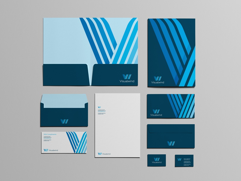 Visualwind concept 01 stationery