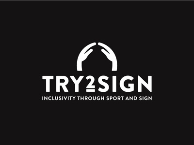 Try 2 Sign aid fingers hands language sign development course programme sport ball rugby