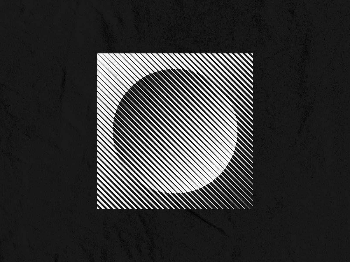 Night & Day minimal inspiration visual creative shape optical graphic tees t shirt apparel fashion clothing tshirt tee vector illustration design abstract geometric symbol