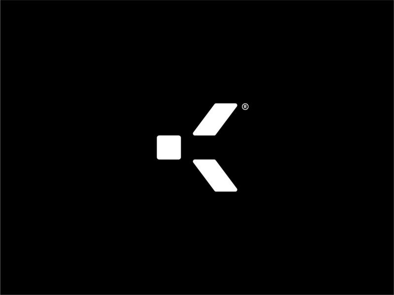 K k vector logomark lettering branding icon type design abstract letter typography mark geometric identity symbol brand logo