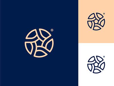 Spark app icon modern logo circle pentagon spark star brand identity minimalist logo corporate logo logo design minimal branding design abstract mark geometric identity symbol brand logo