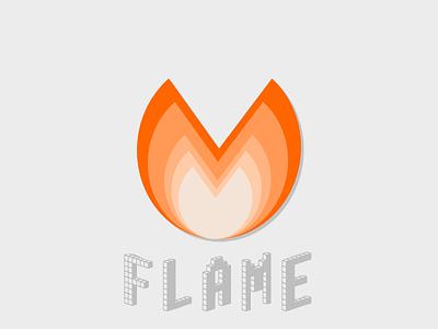 Flame Logo - FREE flame fire flat flat design free logo icon svg vector freebie