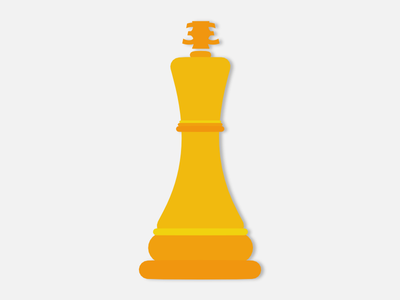 King Reklam / King Advertisement vector chess chess king flat golden logo company advertisement ads king brand trademark