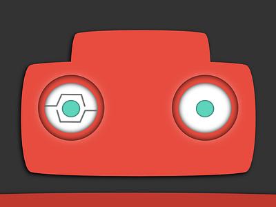 Neujuniors Head neujuniors robot robotic flat logo neu near east university vector