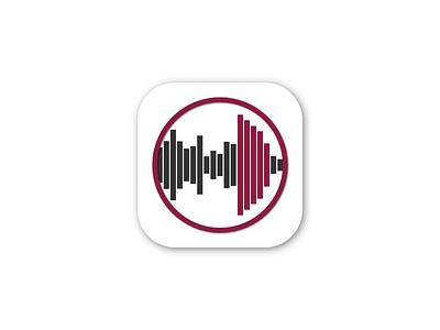 NEU FM Radio App near east university radio app logo appstore ios flat