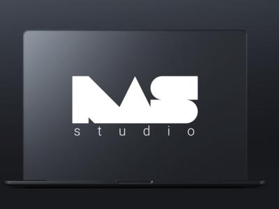 NAS branding vector logo game development studio gaming
