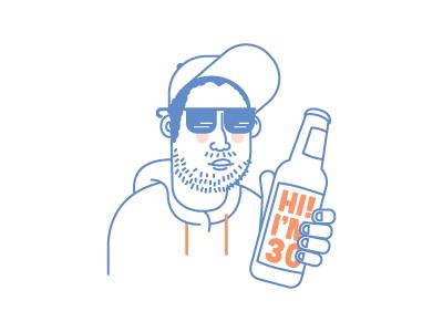 Russell  profile pic illustration illustrator avatar