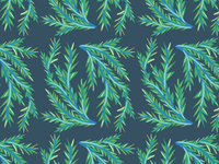 Shrubery Pattern