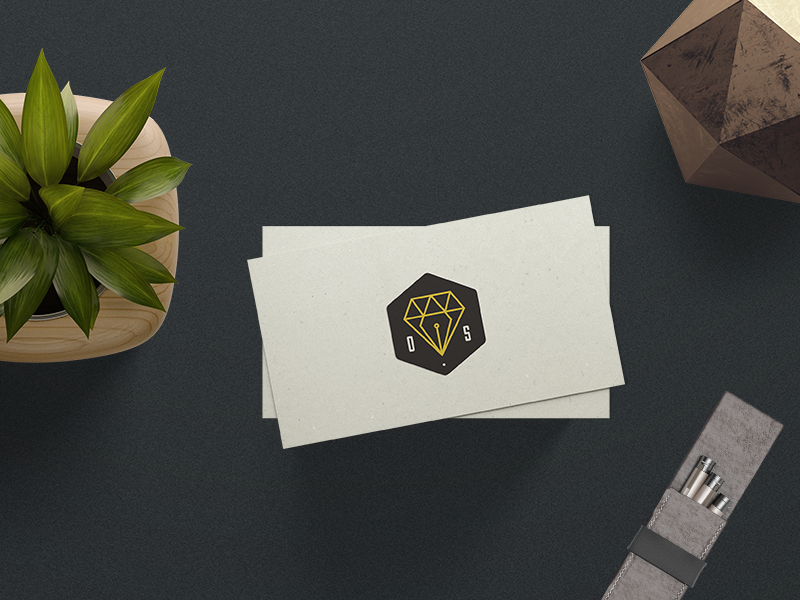 opulent.studio branding opulent.studio illustration pen tool diamond print branding logo design