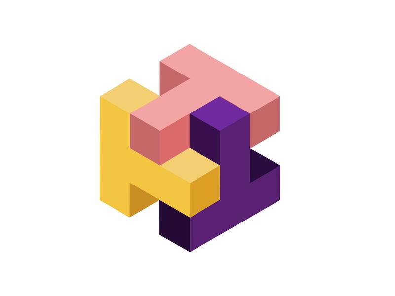 Isometric Cubes by Dari Kartar on Dribbble