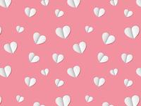 Paper Heart Pattern