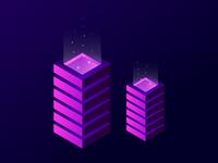 Isometric Magic Towers