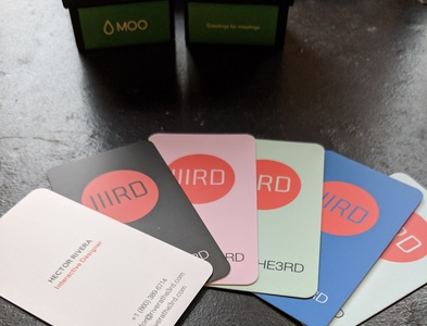IIIRD Business Cards