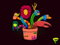 Strange Planty