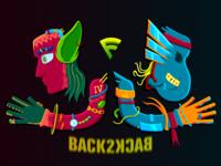 Back 2 Back The Illustration