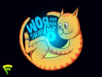 Cat Worship The Illustration (Dark)