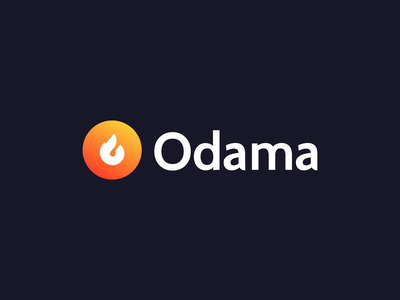 Odama logo animation 🔥 design vector branding agency illustration brand logo and branding motion design motion graphic motion animation animated logo animation logodesign logotype logo design logo branding design brand identity brand design branding
