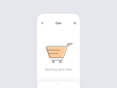 Cart Interaction 🛒 ui animation design app design ecommerce app ecommerce online store online shop illustration mobile app mobile ui mobile interaction design interaction animation interface interaction motion design motion graphic motion animation