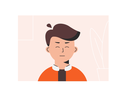 Potrait Character Animation 🔥 personal brand branding illustrator potrait character animation character design animation character illustration