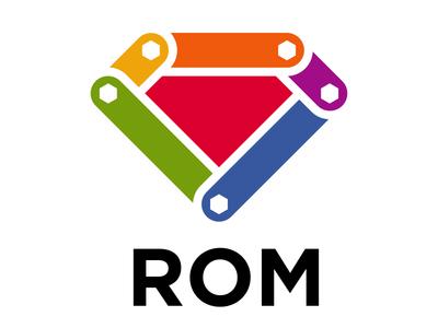 ROM logo rom ruby
