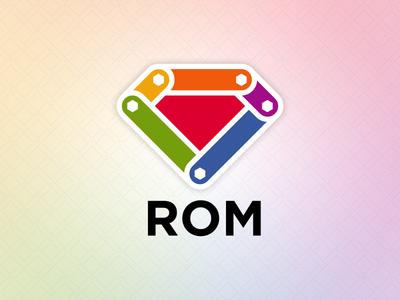 ROM logo experiments rom ruby