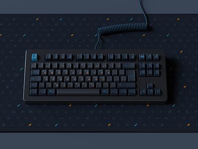 Creative Studio keycaps deskmat keyboard