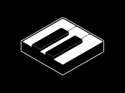Piano Logo piano keyboard music
