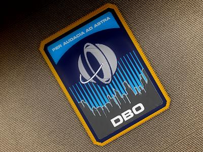 DBO Embroidered Badge dbo destiny