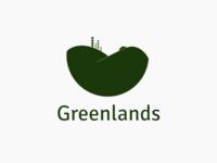 Greenlands landscaping logo