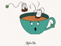 A tea illustration