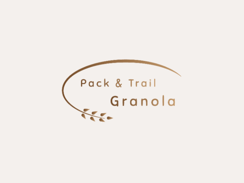 Pack and Trail Granola Logo vector minimal logo design logo challenge illustrator illustration flat daily logo branding adobe