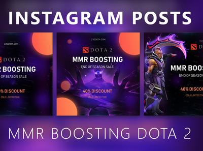 Instagram posts - Dota 2 MMR Boosting