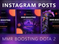 Instagram posts - Dota 2 MMR Boosting