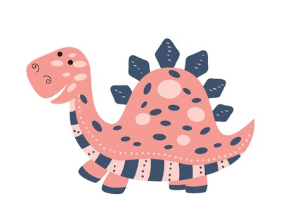 Dinosaur vector adobe illustrator character kids illustration vector illustration dinosaur