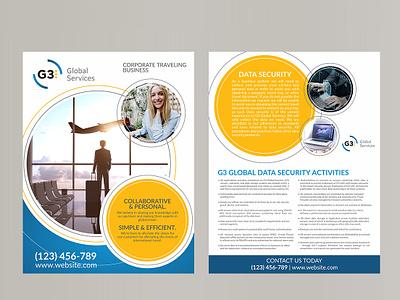 2 page Brochure Template design