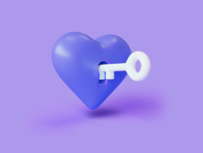 Privacy Cloud Heart