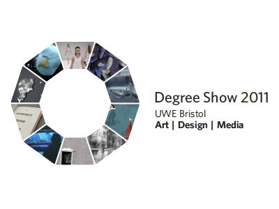 UWE Degree Show 2011 Logo uwe logo degree