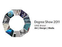 UWE Degree Show 2011 Logo