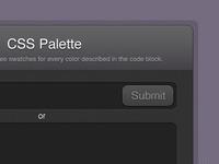 CSS Palette